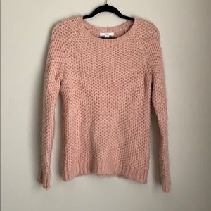 SALE✨ PIPERLIME | pink eyelash knit sweater
